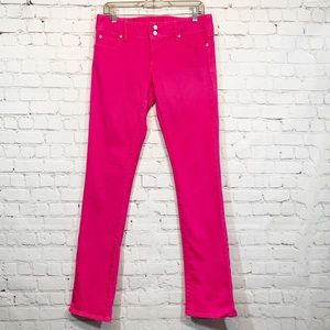 Lilly Pulitzer Worth Straight Jean Hot Pink